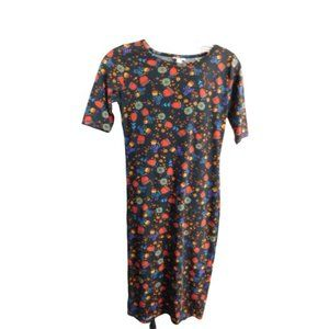 Lularoe XXS Julia Knit Dress NWT Floral